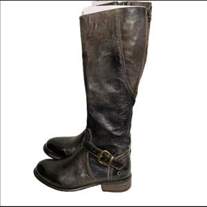 Bed Stu Cobbler series leather tall riding boots